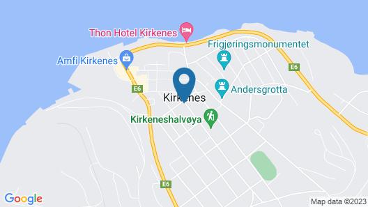 Scandic Kirkenes Map
