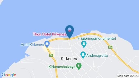 Thon Hotel Kirkenes Map