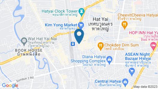 Aloha Hotel Hat Yai Map
