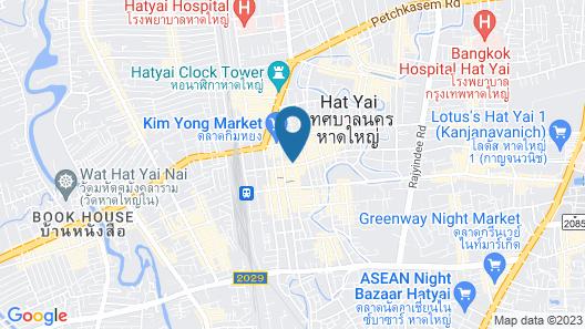The Regency Hotel Hatyai Map