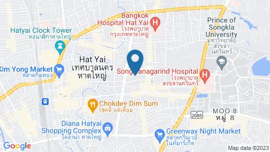 Monkham Village Hatyai Map