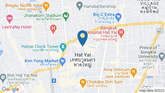 Hansa JB Hotel Map