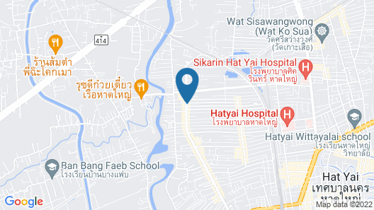 Leevana Hotel Hat Yai Map