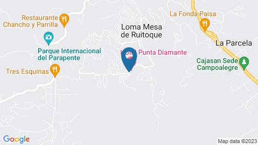 Punta Diamante Premium Hotel Map