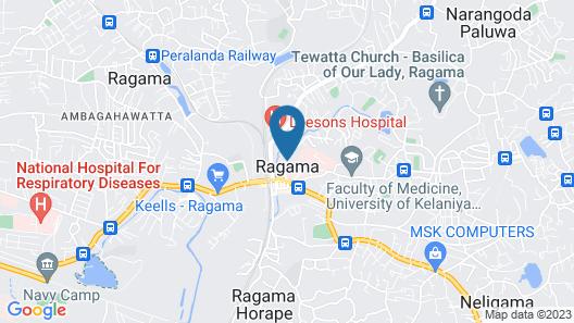 Saninro Residences & Food Court Map