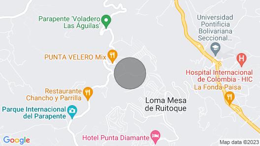 Alquilo Casa DE Campo Colina Ruitoque Alto 2200 Metros Map