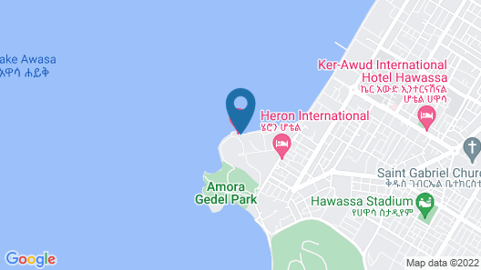 Lewi Resort and Spa Map