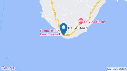 Punta del Sol Beach Resort Map