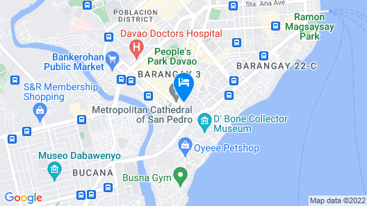 Davao Royal Suites and Residences Map
