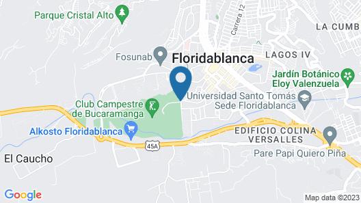 Club Campestre de Bucaramanga Map
