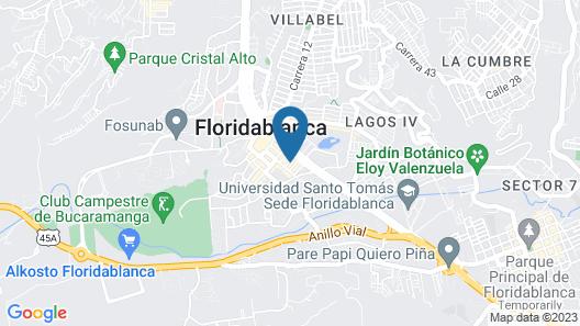 Hotel Don Juan Colonial Map