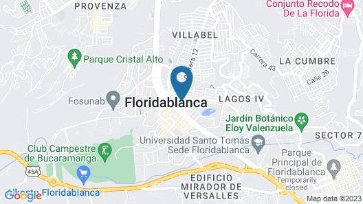 Sonesta Hotel Bucaramanga Map