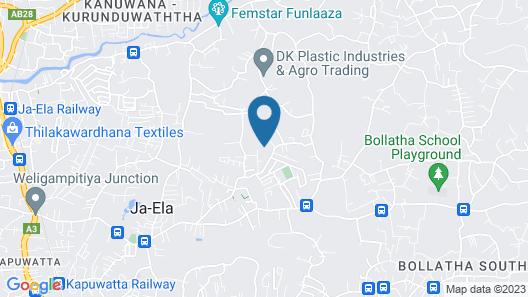 Tikiri Villa Map