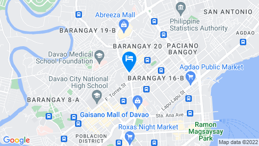 City North Inn Davao Map