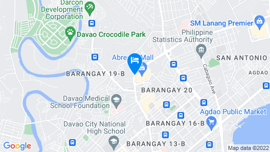 Abreeza Residences by Amgar Map