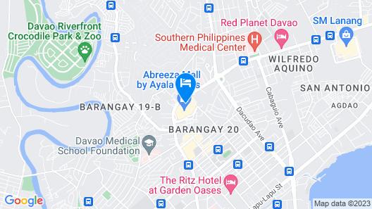 Seda Abreeza Multiple-Use Hotel Map