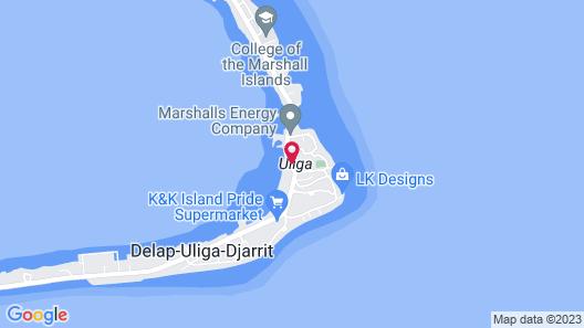 Marshall Islands Resort Hotel Map