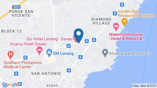 Go Hotels Lanang - Davao Map