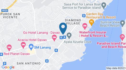 Hotel Tropika Map