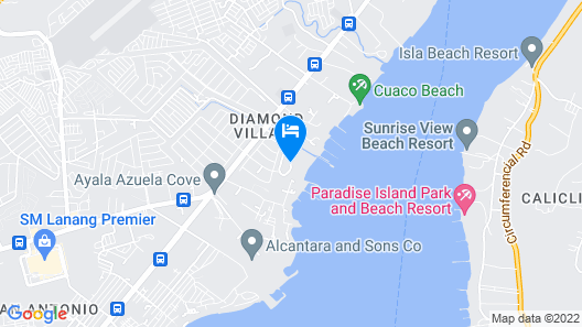 Waterfront Insular Hotel Davao Map
