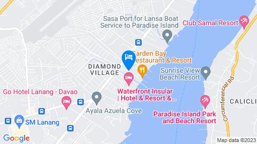 dusitD2 Davao Map