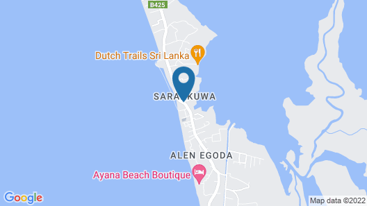 Villa Sarakkuwa Map