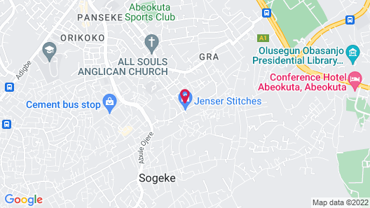 Richton Hotel and Suites Map