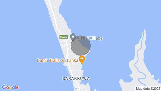 The Solar Crab - Luxury Villa Map