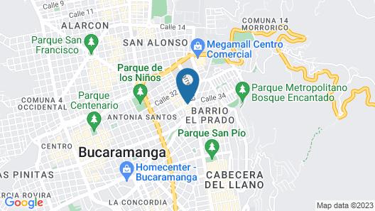 Hotel Buena Vista Map