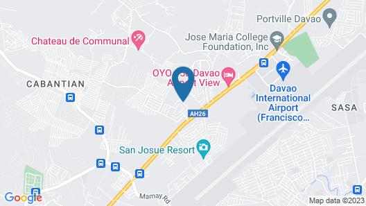 The Executive Villa Inn & Suites Map
