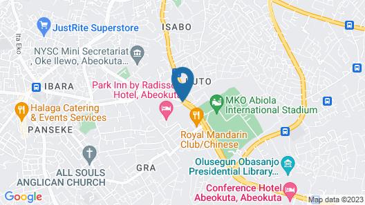 Park Inn by Radisson Abeokuta Map