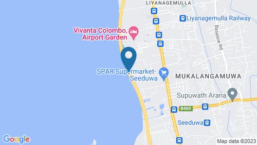 Onreech Hotel Map