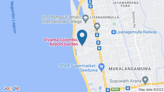 Vivanta Colombo, Airport Garden Map
