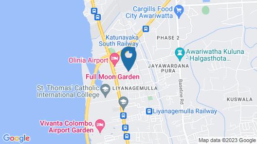 Full Moon Garden Hotel Map