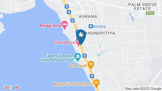 Grandeeza Luxury Hotel Map