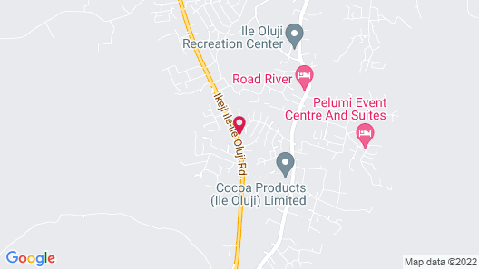 West Point Ile-Oluji Hotel & Suites Map