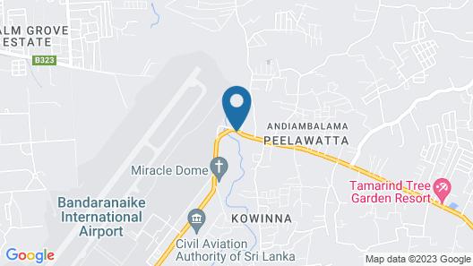 Igloo Airport Villa Map