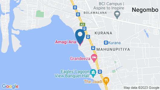 Amagi Aria - Airport Transit Hotel - Negombo Map