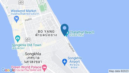 The Bed Vacation Rajamangala Hotel Map