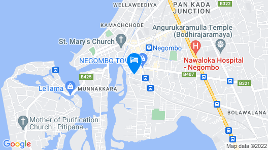 Randi Homestay Map