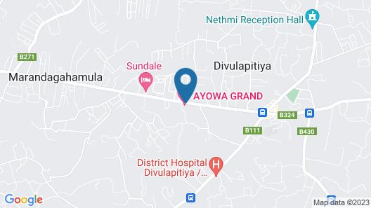 Ayowa Grand Hotel Map