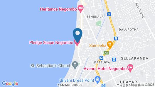 Regal Réseau Hotel & Spa Map