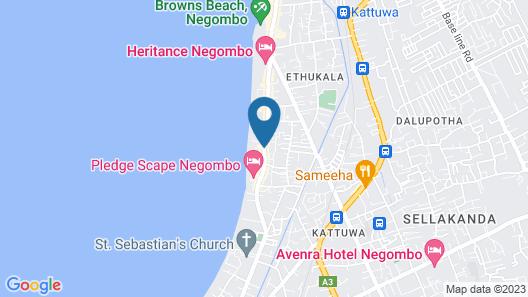 Star Beach Hotel Map