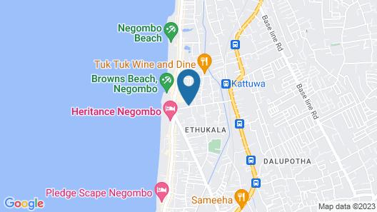 Graceira Inn Map