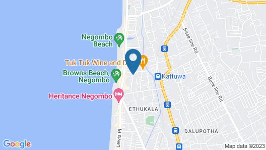 Hotel Indaura Map