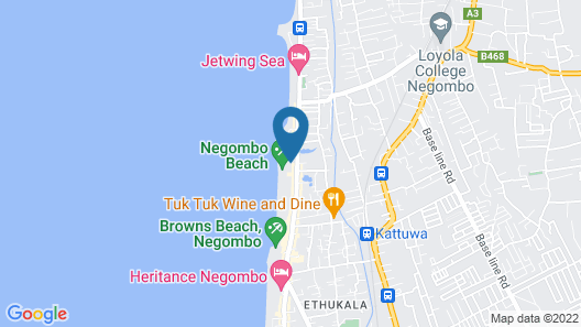 Jetwing Beach Map