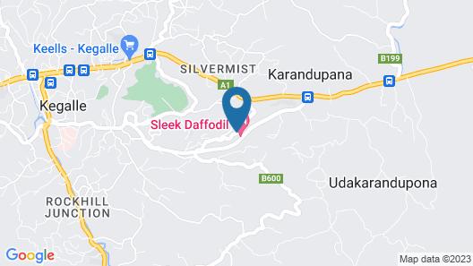 Hotel Sleek Map