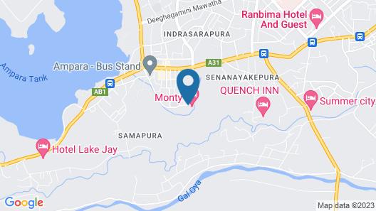 Monty Hotel Map