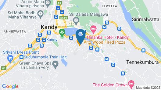 OZO Kandy Sri Lanka Map