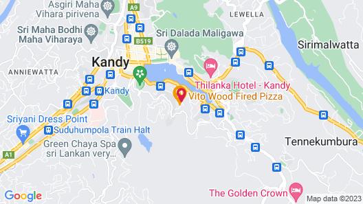 Hotel Mango Garden Map